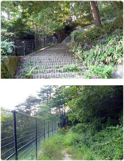 丁字ヶ辻からの徒歩コース